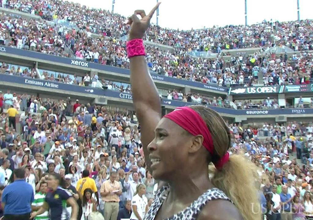 play video Serena Williams vs. Caroline Wozniacki (2014 Women's Final)