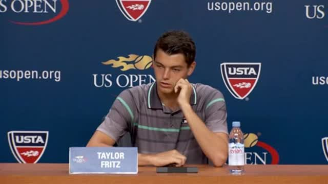 play video Interview: Taylor Fritz