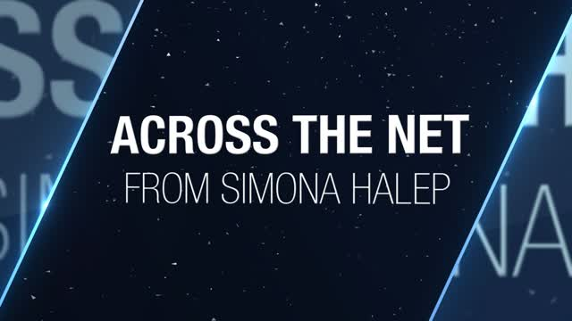 Thumbnail image of Across the Net: Kerber on Halep