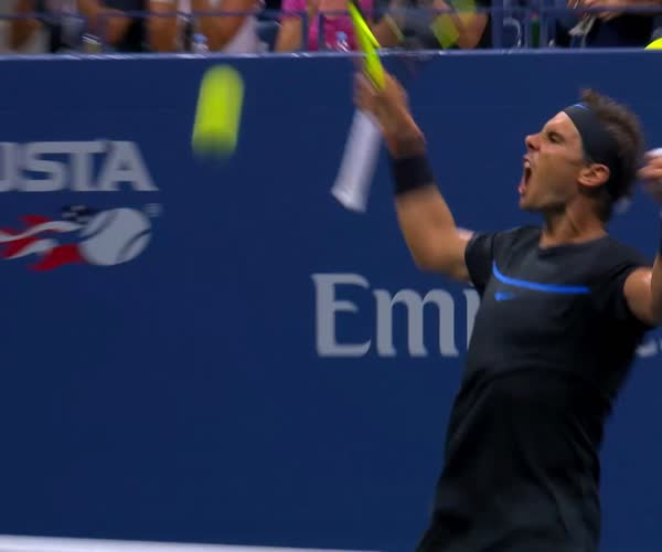 2016 US Open: Best Shots