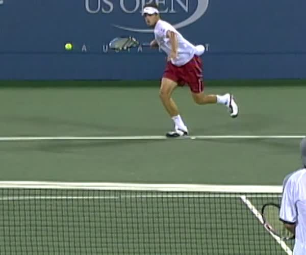 Top Shots: Andy Roddick, 2002 US Open