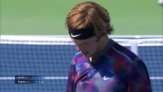 play video Cognitive Highlight: Andrey Rublev - Round 4