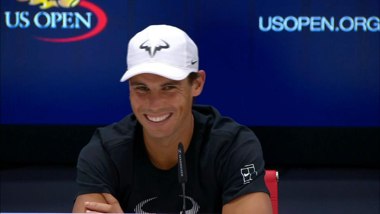 Rafael Nadal Interview Official Site Of The 2020 Us Open Tennis Championships A Usta Event