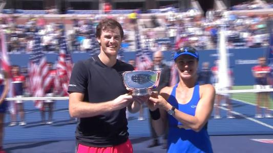 play video Hingis/Murray vs. Chan/Venus
