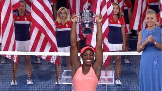 play video Performance of the Day: Sloane Stephens