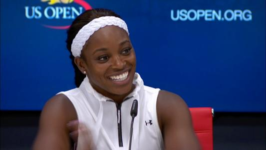 play video Sloane Stephens Interview
