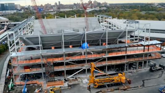 Thumbnail image of US Open Time Lapse: Building the new Louis Armstrong Stadium