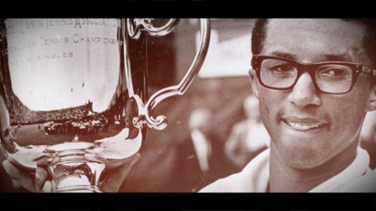 Thumbnail image of 50 for 50: Arthur Ashe, 1968 men's singles champion