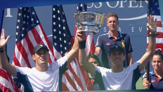 play video 50 Moments That Mattered: Bryans win 100th career title