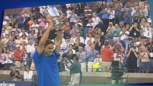 play video 50 Moments That Mattered: Federer wins first of five straight titles