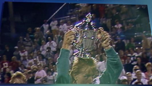 play video 50 Moments That Mattered: A Triple Crown for Navratilova