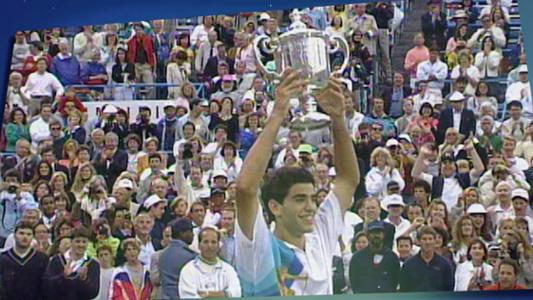 play video 50 Moments That Mattered: Sampras comes of age at 19