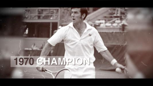 play video 50 for 50: Ken Rosewall, 1970 men's singles champion