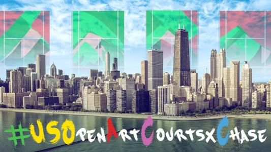 play video US Open Art Courts x Chase: The Ace Project
